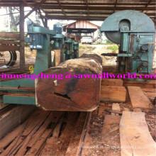 A faixa de madeira do corte do CNC considerou a serra de fita do registro da eficiência elevada da máquina