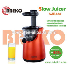 Juicer lento de diseño especial con alta tasa de extracción juicer