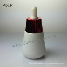 Brand Unisex garrafas de óleo de vidro Opal branco