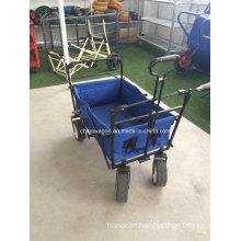 Blue Color Folding Wagon Canopy