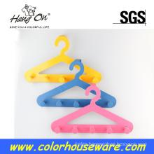Colorful metal hanger for children