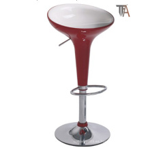 Taburete moderno de bar rojo para muebles de bar