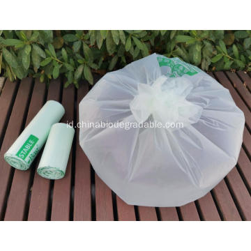 100% Tas Sampah Kompos Biodegradable