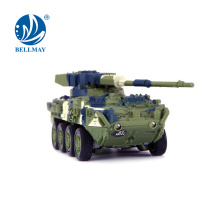 NEW!4 channel design Rc Tank equipped with 2 LED lights can play indoor&outdoor for Wholesale