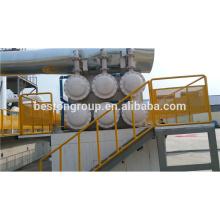 Reciclaje de residuos de plástico pirólisis de residuos de caucho a la máquina de extracción de aceite
