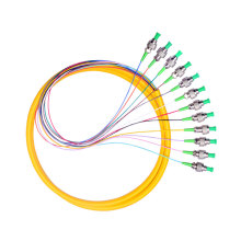 ST APC 0.9mm SMFiber Optic Bundle Pigtail