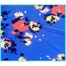100%Rayon Crepe Fabric Fashion Floral Printed Dressmaking Fabric