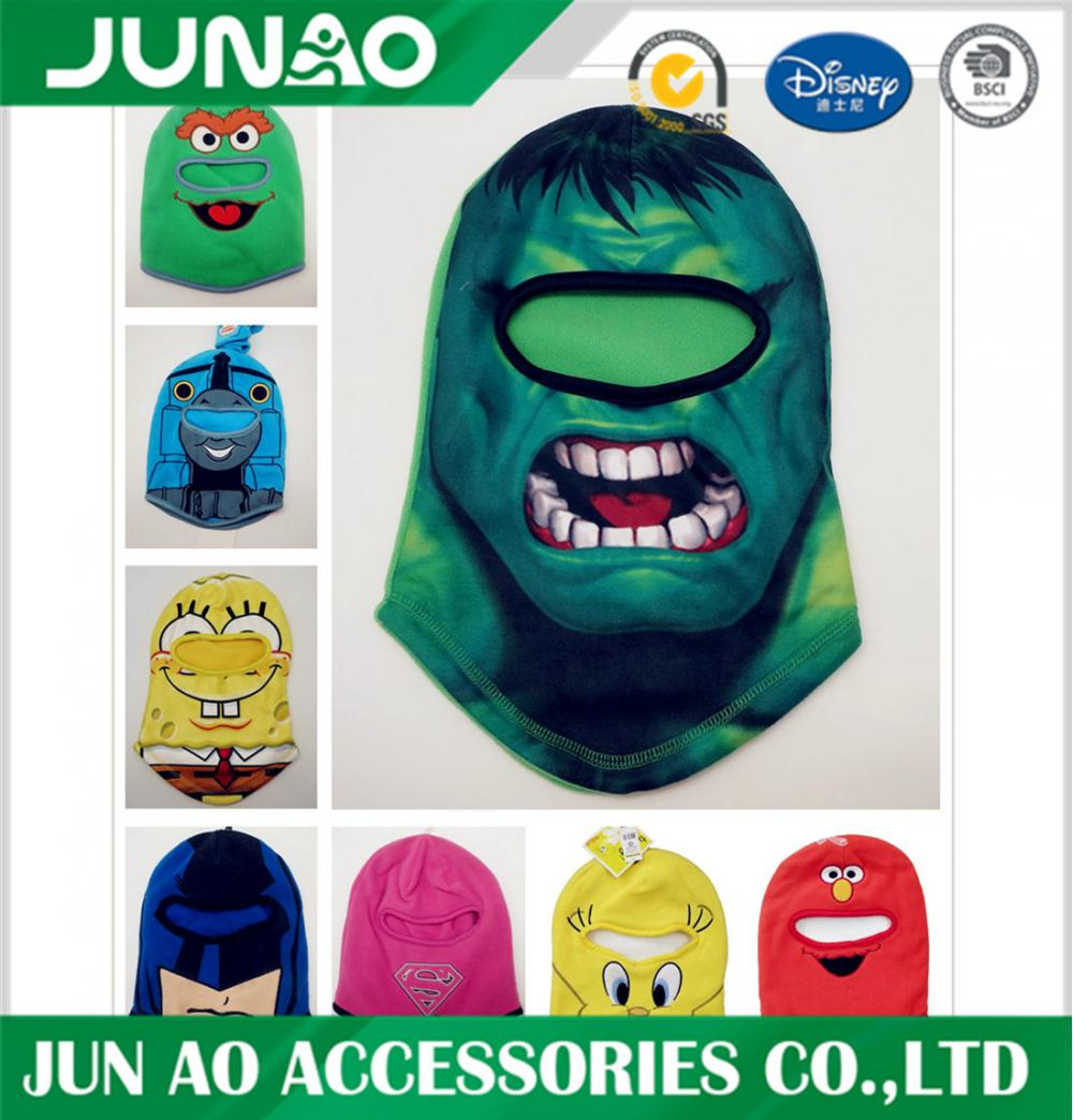 Fleece balaclava kid anpassad mask