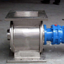 Circular rotary blanking valve for valve actuators