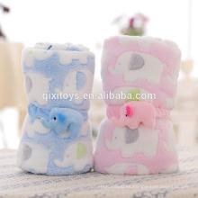 Juguetes del bebé de la felpa de la felpa divertida profesional personalizada de buena calidad con diseño de elefante