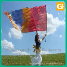 Custom marking soccer flag national flying flag