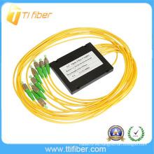 1x7 Fibra óptica Splitter / acoplador con conector FC / APC