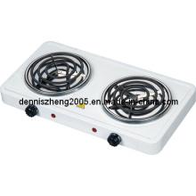 Double spirale brûleur électrique, cuisinière électrique