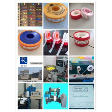 12mm coloridos Outershell Teflon fita / PTFE fita