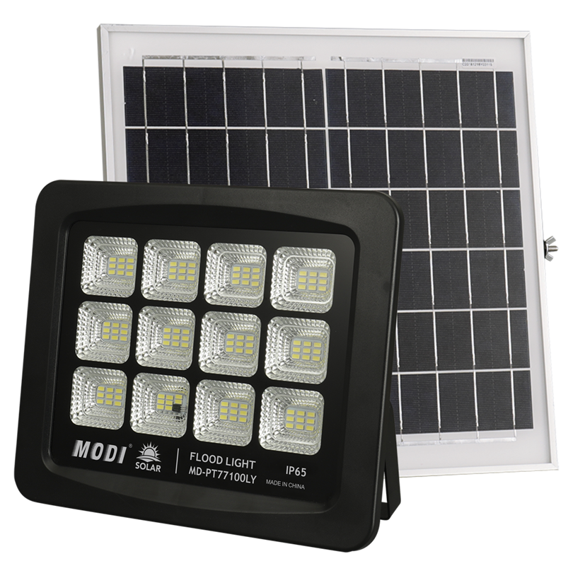 No electricity cost solar flood light