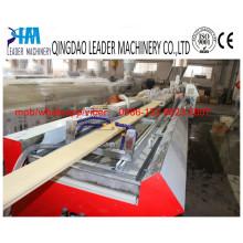 PVC Wood Plastic Composite WPC Profile Extrusion Line