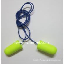 Balle à cordon à une seule fois Use Foam Earplug