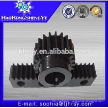 M2 22T black oxide pinion gear