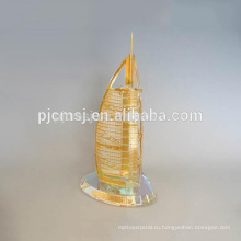 Новый дизайн кристалл Бурдж Дубай модель мементо см-P030