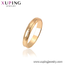 15451 Xuping 18k gold plated latest Fashion ring designs without stone for women