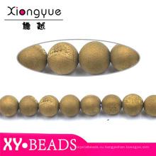 Красивые круглые бусины ручной работы браслет ювелирных изделий природных камней