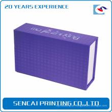 Caixa de embalagem artesanal de anel de luxo SenCai