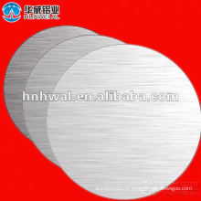 Feuille circulaire en aluminium