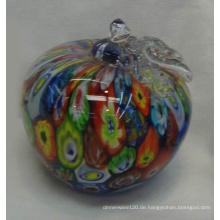 Apfel-Form-Glas Briefbeschwerer-10bg01055