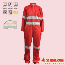 industria petrolera y gas ignífugo antiestático workwear monos china