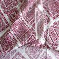 Plain Woven Man-Made Cotton Fabric Printed Lady Dress Fabric