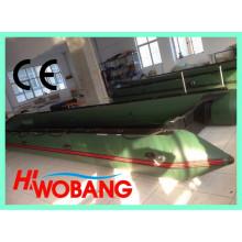 China-Militär aufblasbares Rettungsboot, großes PVC-Boot