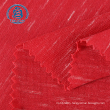 China factory wholesale polyester rayon slub hacci knit fabric for sweater