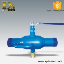 Válvula de bola de filtro de descarga automática con precio competitivo