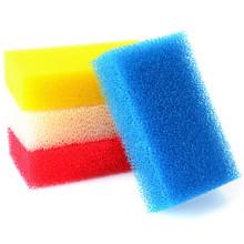 Productos de limpieza de colores