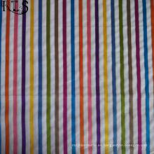 La tela teñida hilado del algodón del popelín de algodón para la ropa Camisas / viste Rls60-15po