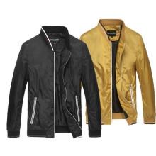 Wholesale Men′s Winter Plain Zipper Jackets