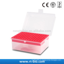 Rongtaibio 200ul 96hole Racks pour pipettes