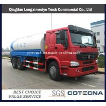 HOWO 6X4 10-20 Cbm Water Tanker Transportation Truck