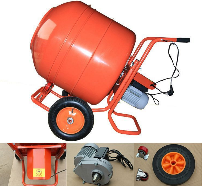 drum small concrete mixer price