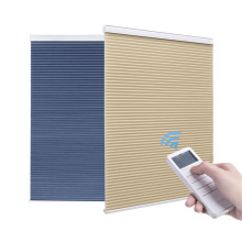 Моторизованные энергоэффективные оконные сотовые шторы