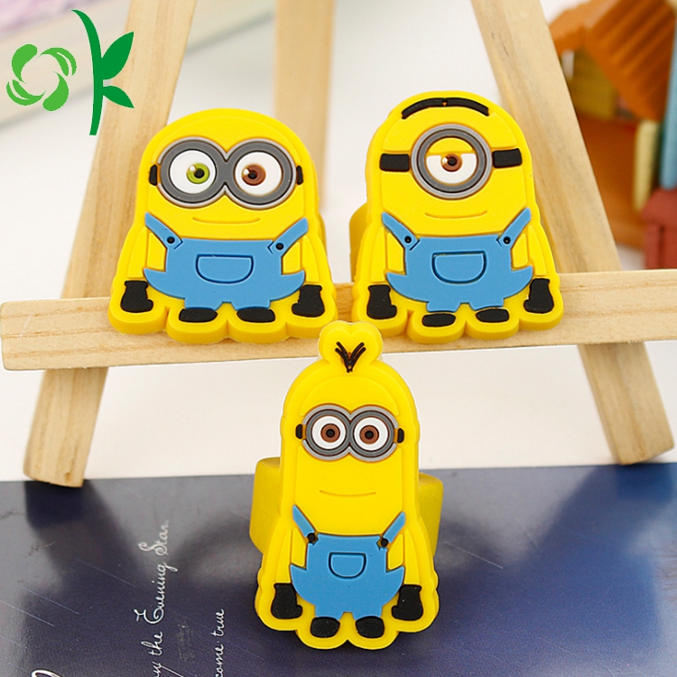 Minions Cartoon Silicone Ring