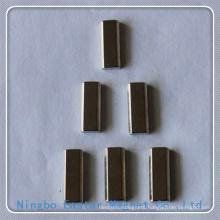 Nickel Plating N48h Permanent NdFeB Bar Magnet