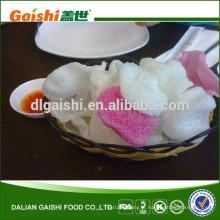 délicieux biscuits croustillants de crevettes de nourriture de casse-croûte de la Thaïlande avec le prix concurrentiel