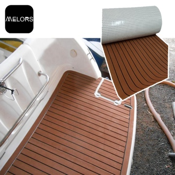 Rib Boat EVA Faux Teak Decking Sheet