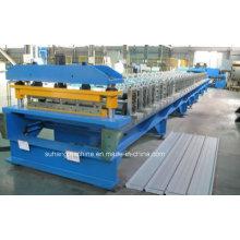 Máquina formadora de rolos de revestimento de parede de metal com certificação ISO e CE de qualidade
