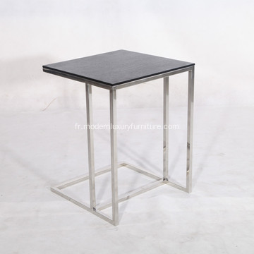 La table d'appoint simple café Leger
