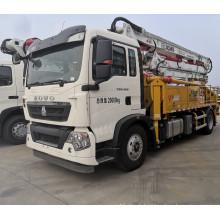 New Sinotuck Howo 30m HB30K truck mounted concrete line boom pump truck for hot sale bomba de hormigon schwing boom pump