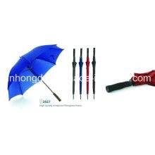 Manueller offener gerader Regen und Sun-Golf-Regenschirm (YSGO0001)