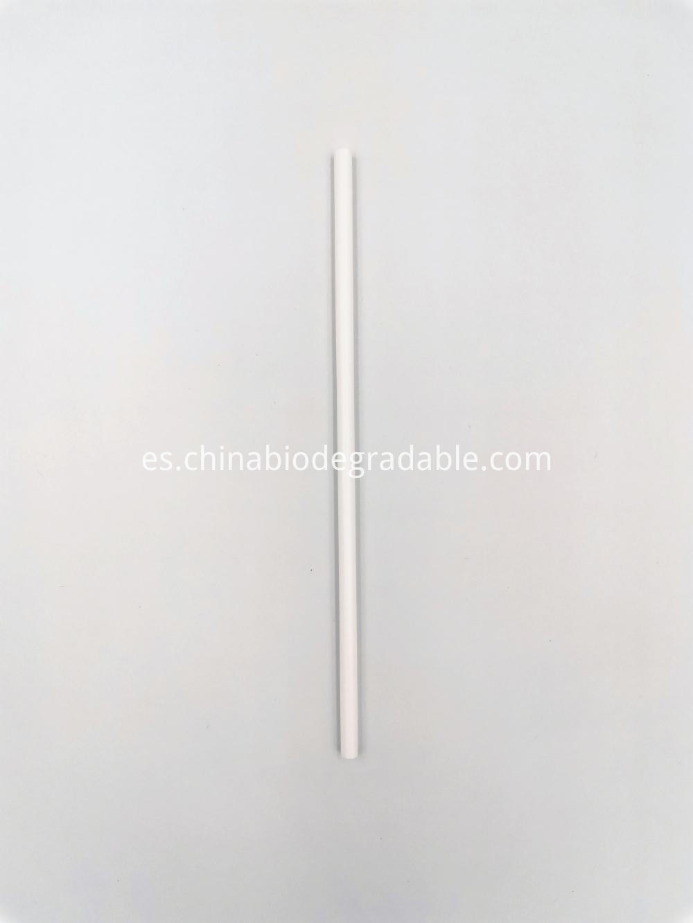 100% Biodegradable Disposable Plastic PLA Drinking Straws