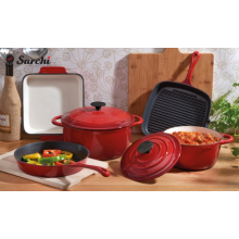 Factory Supply Enameled Cast Iron Cooking Pot Set